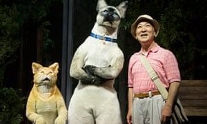 'Kafka on the Shore' Play performed by Ninagawa Company at the Barbican Theatre