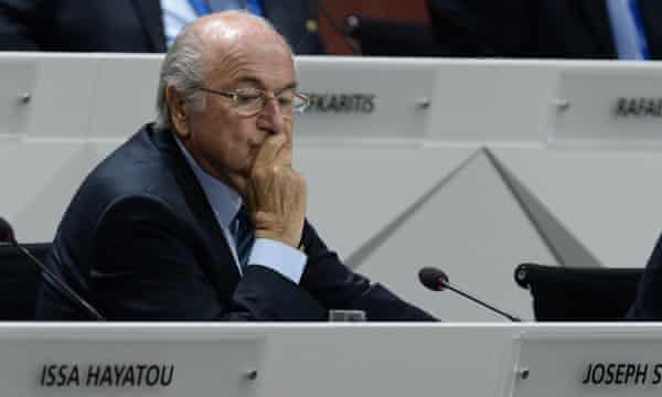 Blatter wants to restore Fifa's reputation in the world.