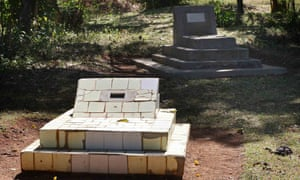 The graves of Barack Obama's father and grandfather lie near the family house in Kogelo.
