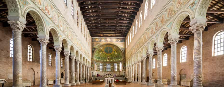 Nave gaze … the Basilica of Sant'Apollinare in Classe.