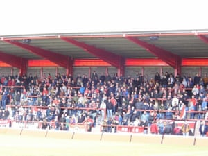 A friendly 'test' game to get the safety certificate for FC United of Manchester's new ground, Broadhurst Park