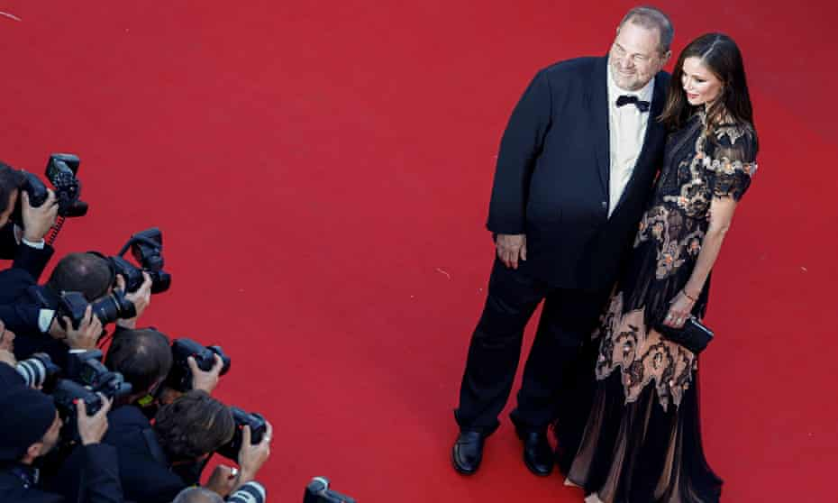 Harvey Weinstein at The Little Prince premiere at Cannes