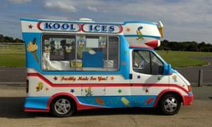 Ice cream van UK