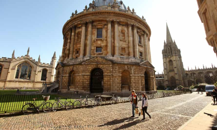 Oxford University. The prestigious debating society, the Oxford Union, open to students in Oxford, has been accused of racism.