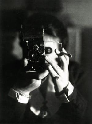 Self-portrait with Icarette, circa 1925