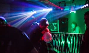 The use of laughing gas as a recreational drug has increased rapidly in recent years, with more than 400,000 16- to 24-year-olds reporting taking it in the past year. Photograph:Frantzesco Kangaris for The Guardian
