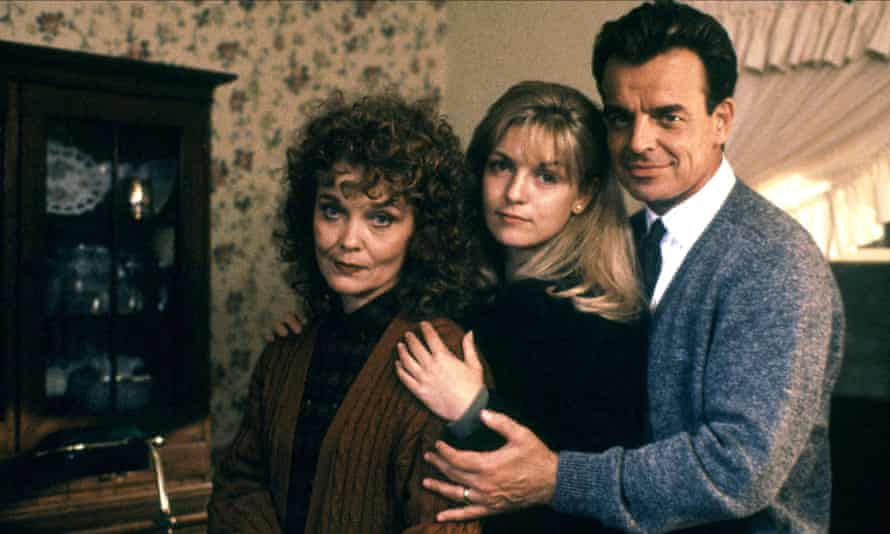 Evil under the surface: The Palmer family with Laura in the centre in Twin Peaks: Fire Walk With Me