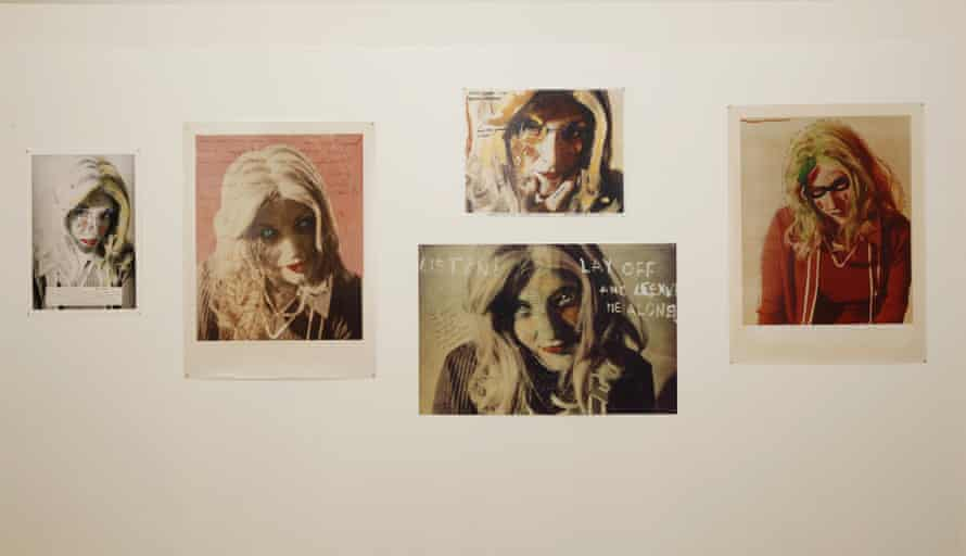 From the Roberta Breitmore Archive, 1974-1978, works on paper and photographs.