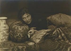 Hans Basler's  portait of Germaine Krull, Berlin, 1922