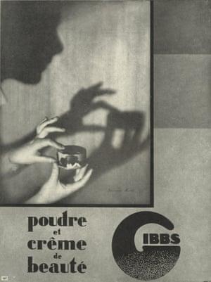 Advertisement for Gibbs, 1930