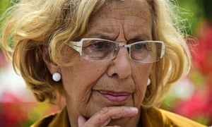 Ahora Madrid's Manuela Carmena