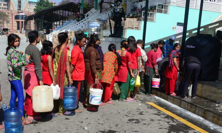 Water supplies remain precarious for many in Nepal following the earthquake. The RAF is delivering purification equipment to help locals source clean water and prevent the spread of disease.