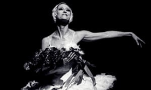 Maya Plisetskaya in Mikhail Fokine's The Dying Swan at the Metropolitan Opera House, New York, in 1974. Photograph: Linda Vartoogian/Getty Images