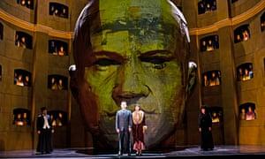 Mariusz Kwiecien and Georgia Jarman in Król Roger at the Royal Opera House, London.