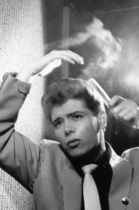 Cliff Richard in 1959. The ballad Travellin' Light, cut from Elvis film King Creole, fitted his recording manager Norrie Paramor's plan to turn the UK singer into an all-round entertainer.