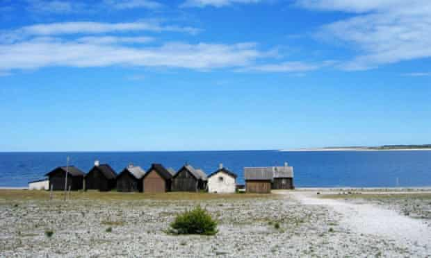 Digerhuvud nature reserve on Faro island, just north of Gotland – in Sweden.