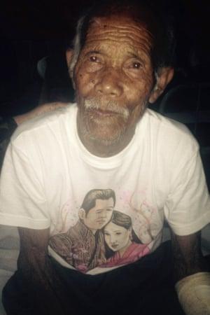 Earthquake survivor Funchu Tamang, 101.