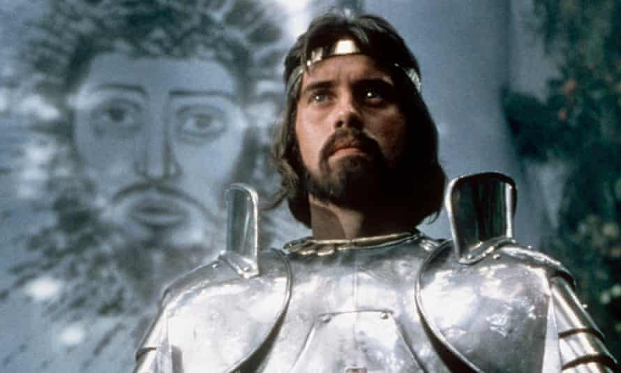 Nigel Terry as King Arthur in the 1981 film Excalibur.