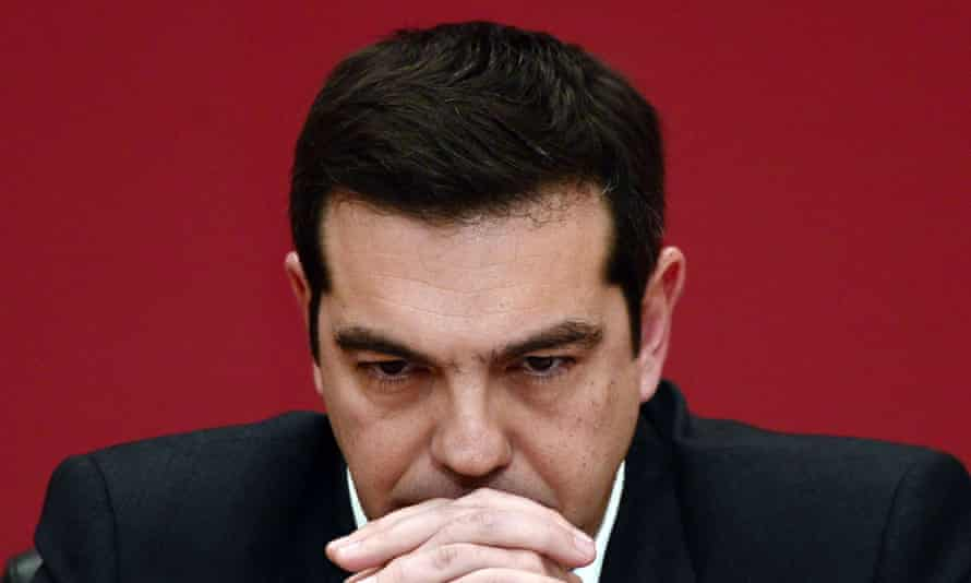 Choices to be made: Alexis Tsipras has managed to maintain approval ratings of almost 70% despite rolling back on almost every promise he has made.