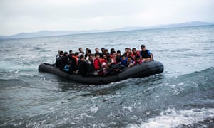 TOPSHOTS A dinghy overcrowded with Afgha