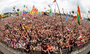 Last year's Glastonbury festival, staple of the British summer circuit.