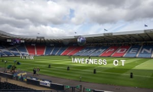 Big letters on the rampage at Hampden!