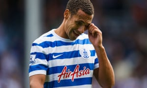 Rio Ferdinand spent his final season with QPR.