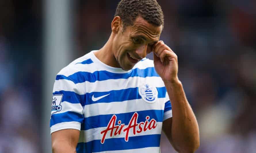 Rio Ferdinand spent his final season with QPR.