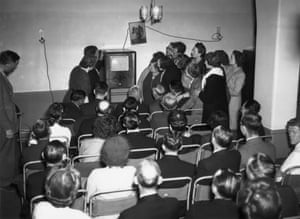 1948 Manchester United v Blackpool  The Blackpool and Stretford offices of Rediffusion invite their subscribers to come to their London Head Office at Carlton House, Regent Street, to watch the cup final on television. United won the match 4-2