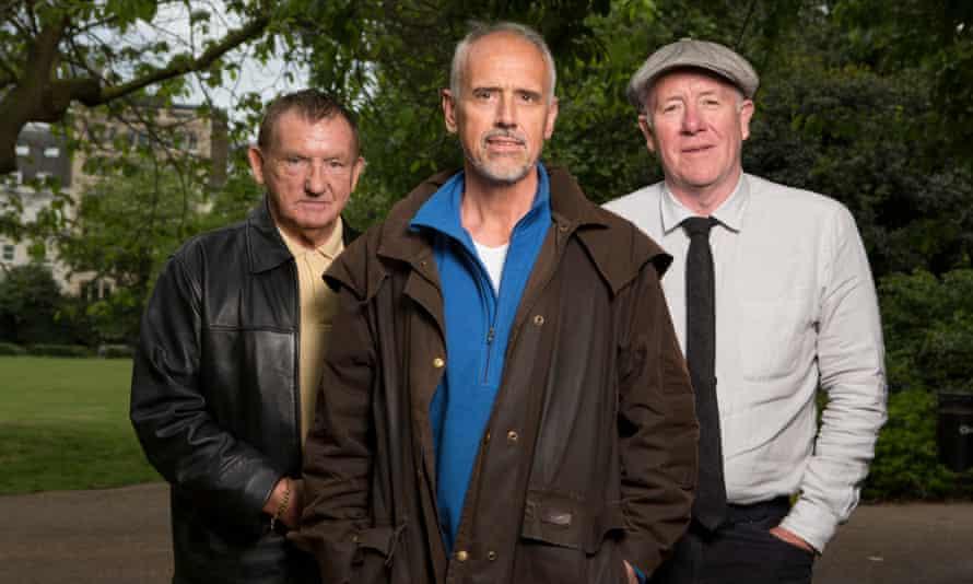 John Burn, Kevin Curran and Hugh O'Shea.