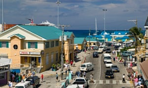 George Town in Grand Cayman on the Cayman Islands