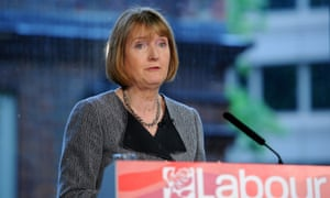 Harriet Harman says the party's leadership candidates need to show that they can do the job of opposing the Tories.