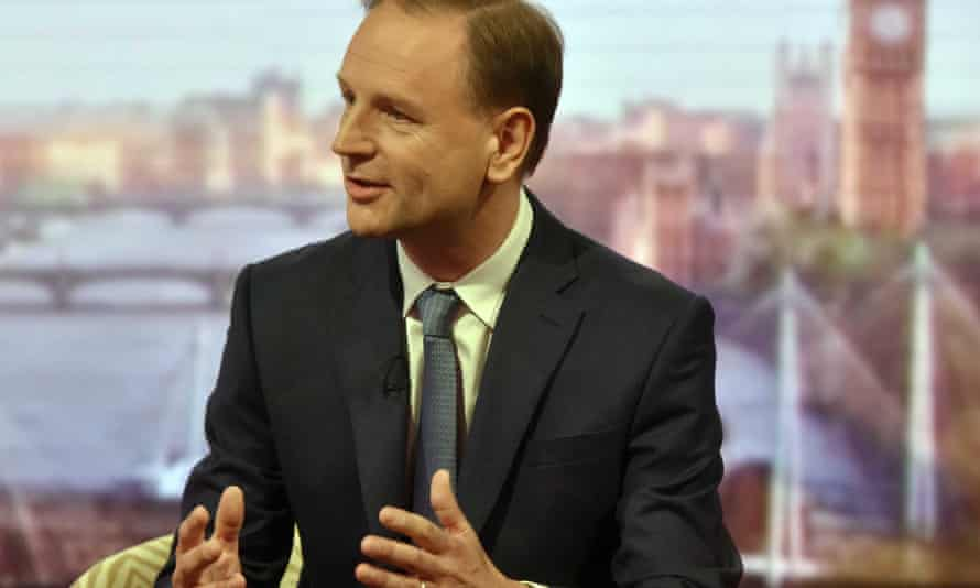 Simon Stevens, the chief executive of NHS England, on the Andrew Marr Show.