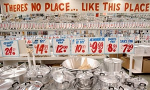 'Only the floors are crooked' ... Honest Ed's.