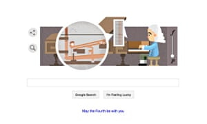 Google's latest doodle celebrates the 360th birthday of Bartolomeo Cristofori, the man widely credited with inventing the piano.