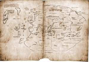 The Vinland map is purportedly a 15th century Mappa Mundi, redrawn from a 13th century original. Drawn with black ink on animal skin, if authentic the map is the first known depiction of the North American coastline, created before Columbus' 1492 voyage.