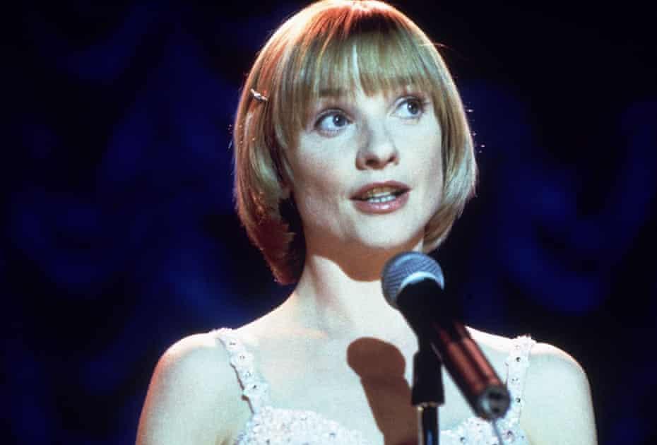Jane Horrocks in the film of Little Voice.