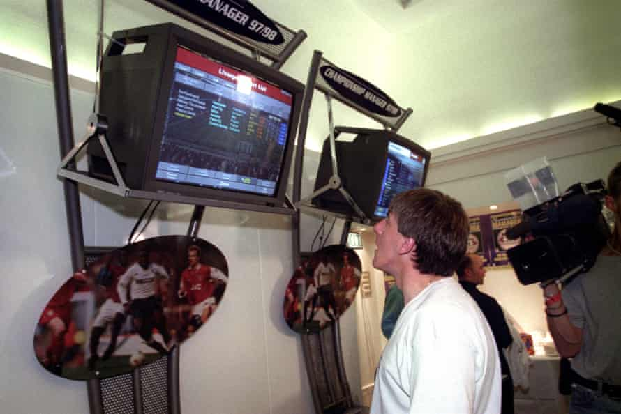 Peter Beardsley looks at the latest Championship Manager game in 1997.