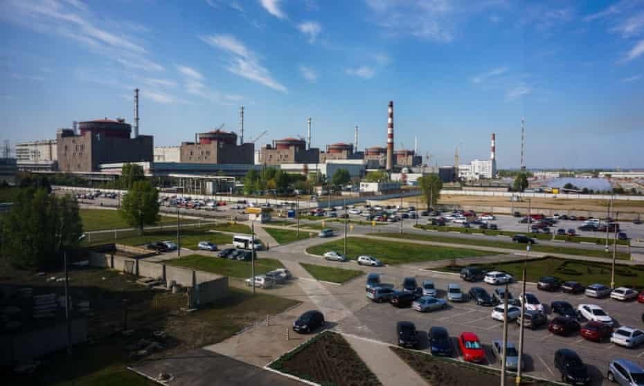 Zaporizhia Nuclear Power Station in Ukraine