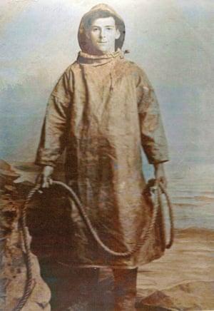A portrait of John Craske as a young man.