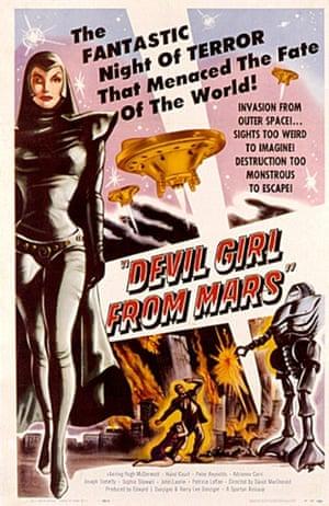 What if women on Mars turn evil?!
