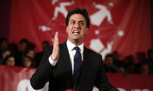Ed Miliband speaks at a Citizens UK event in London on Monday