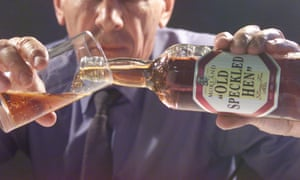Greene King, owner of Old Speckled Hen, has seen sales checked by new Scottish drink-driving laws.