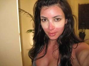 What Kardashian looks like with sunburn.