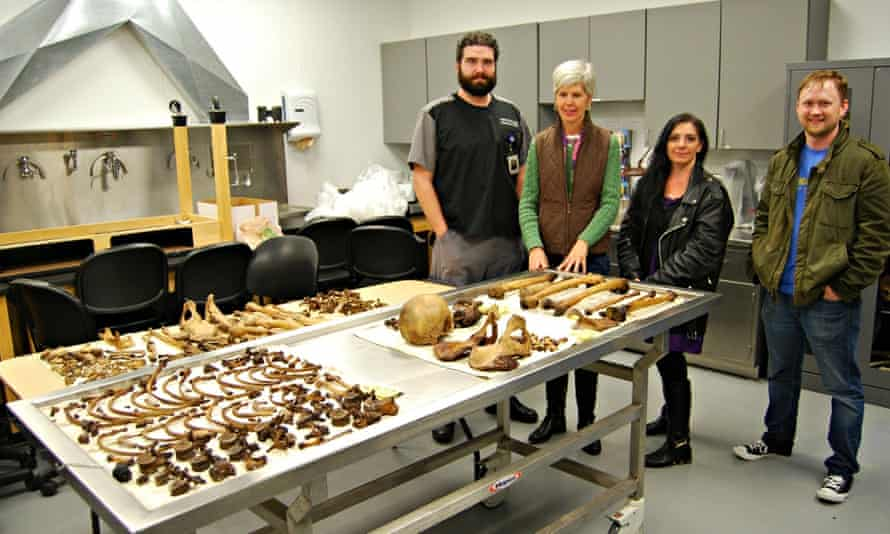 Staff at the Southeast Texas Applied Forensic Science Facility in Huntsville, Texas.
