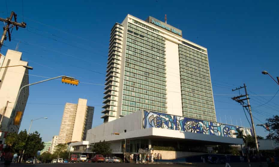 The Habana Libre hotel opened as the Habana Hilton in 1958.
