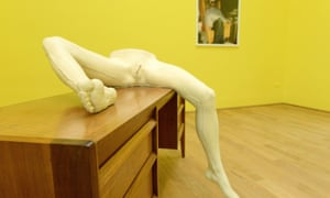 Sarah Lucas installation British Pavilion at the 56th International Art Exhibition at the Biennale in Venice