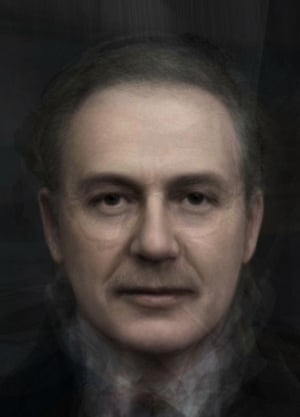 A composite showing the average prime minister since 1900.