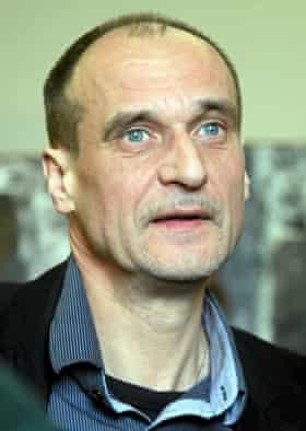 Presidential candidate Paweł Kukiz.