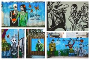 Street art from Southwest Detroit's Alley Project